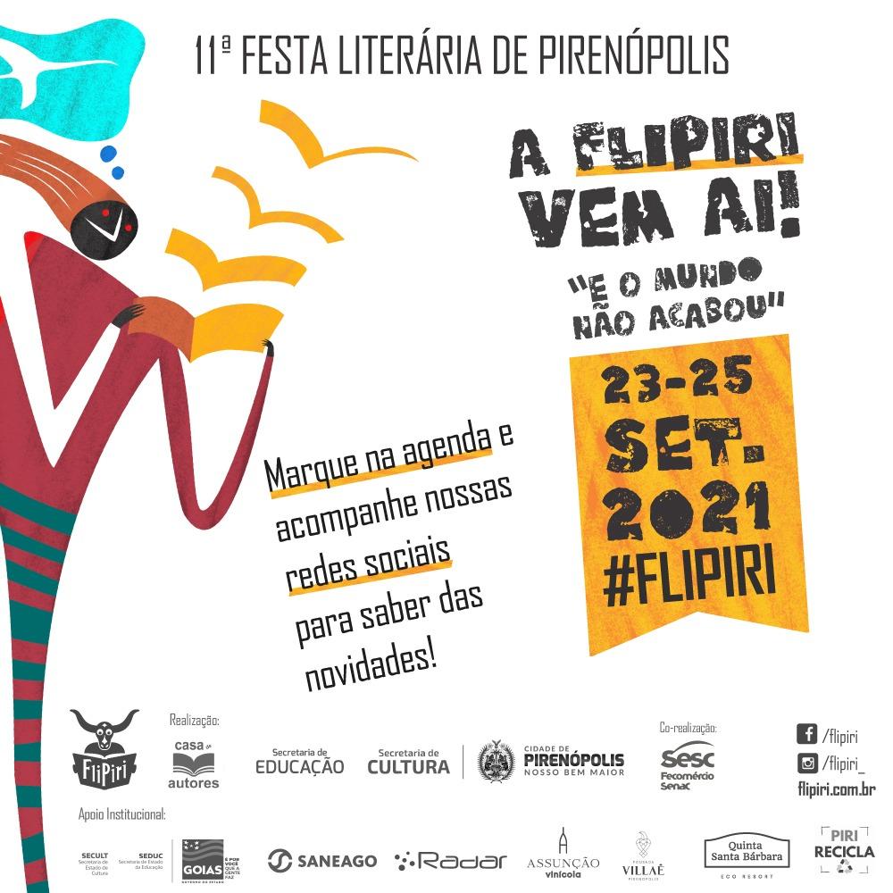 Feira Literária de Pirenópolis 2021